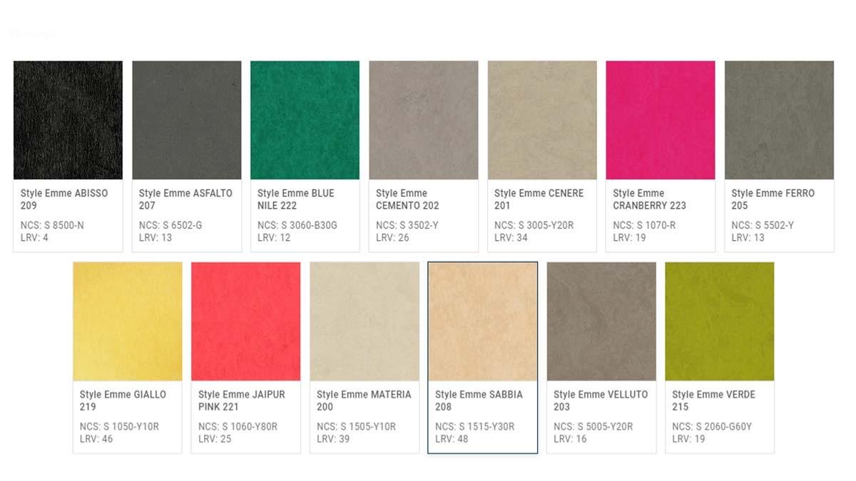 Pavimento in Linoleum Style Emme -Alcune-Texture