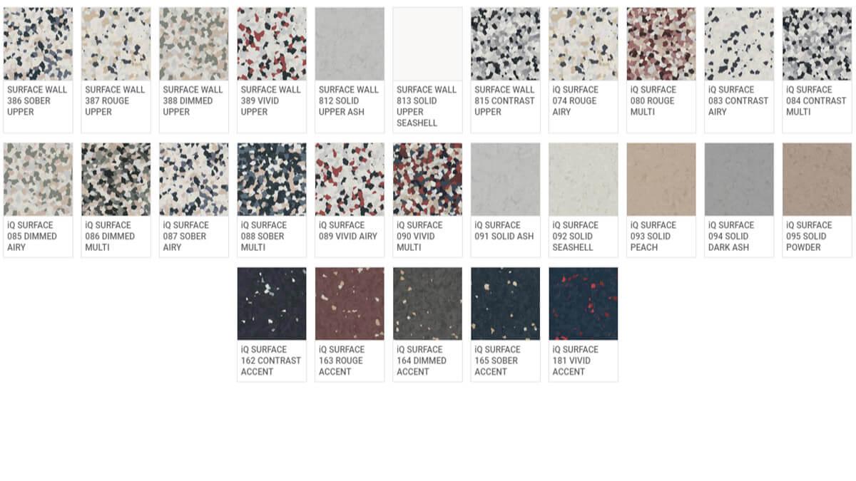 iQ Surface - Colori